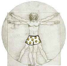 Vitruvian Man (Censored)